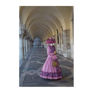 Female Carnival Costume, Venice Acrylic Wall Art