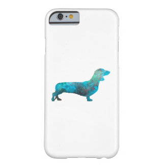 Female Dachshund in watercolor Barely There iPhone 6 Case