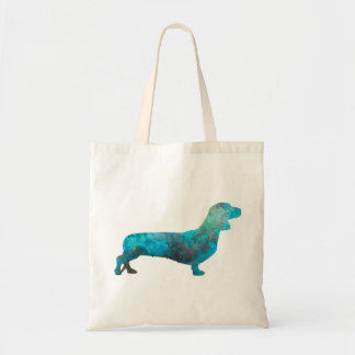 Female Dachshund in watercolor Tote Bag