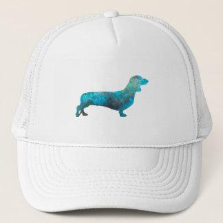 Female Dachshund in watercolor Trucker Hat