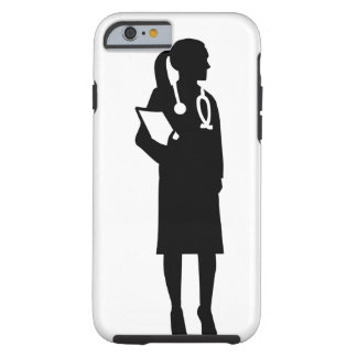 Female doctor tough iPhone 6 case