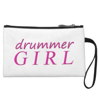 Female Drummer Wristlet