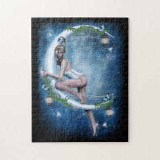 Female Elf Moon Puzzle