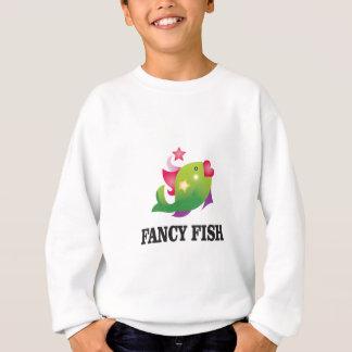 female fancy fish sweatshirt