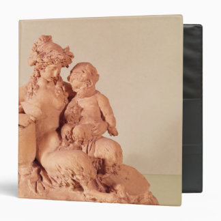 Female faun with her child 3 ring binders