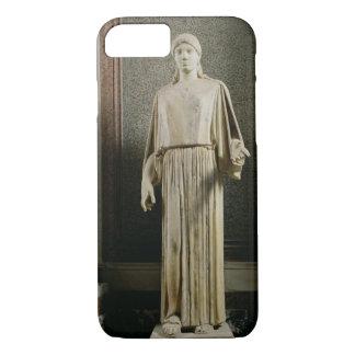 Female figure wearing a peplos, Greek (marble) iPhone 7 Case