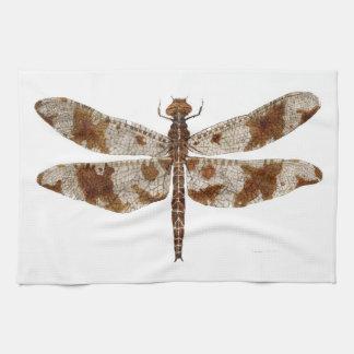 Female Filigree Skimmer Dragonfly Dish Towel