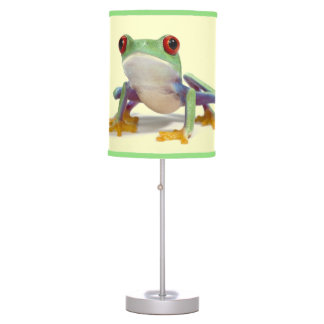 Female frog 2 table lamps