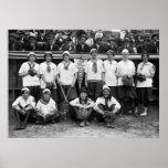Female Giants Baseball, 1913 Posters