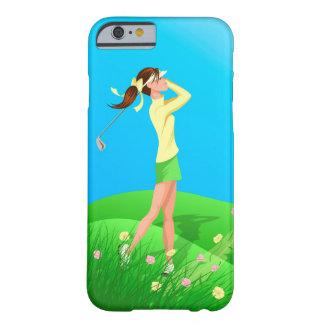Female Golfer Spring iphone 6 case