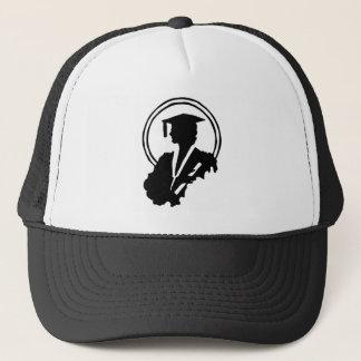 Female Graduate Silhouette Trucker Hat