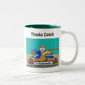 Female Gymnastics - Mug for Coach