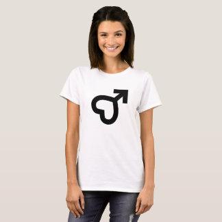 Female Heart Icon T-Shirt