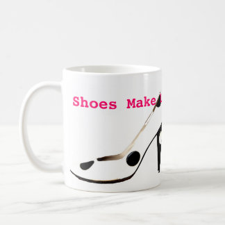 Female High Fashion Shoes Coffee Mug