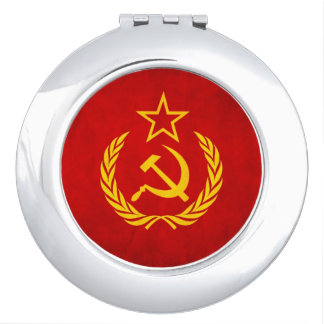 Female KGB agent compact Mirrors For Makeup