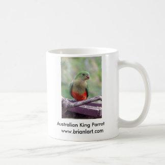Female King parrot Basic White Mug