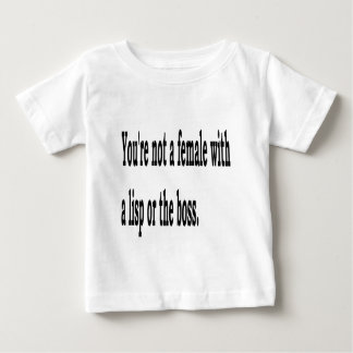 Female Lisp, 3w Baby T-Shirt