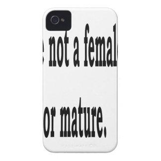 Female Lisp, 4 iPhone 4 Case-Mate Cases