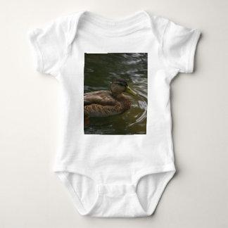 Female Mallard Duck Baby Bodysuit