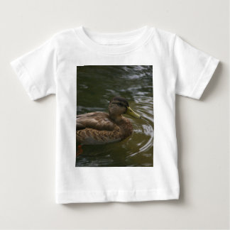 Female Mallard Duck Baby T-Shirt