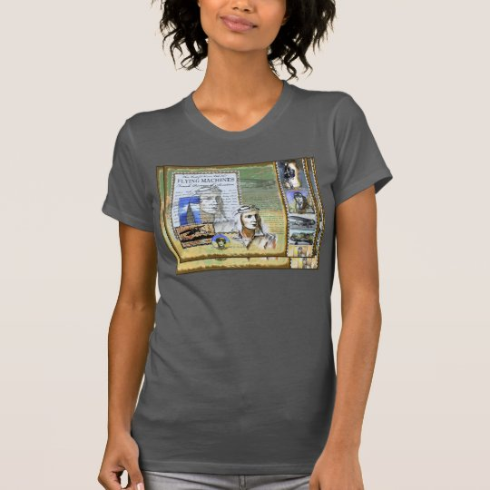 """Female pioneers of Aviation"" Jersey T-Shirt"