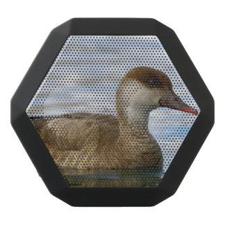 Female pochard duck, netta rufina black bluetooth speaker