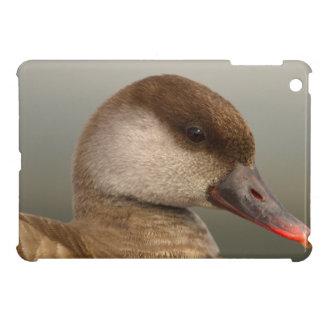 Female pochard duck, netta rufina cover for the iPad mini