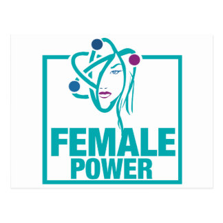 Female Power Postcard