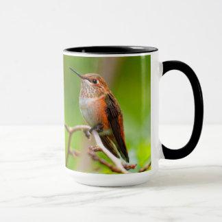 Female Rufous Hummingbird on the Plum Tree Mug