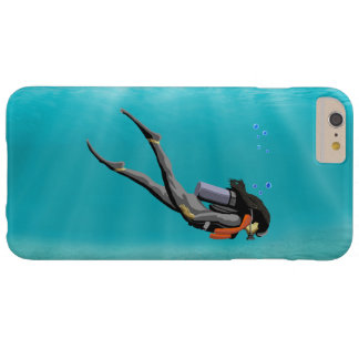 Female S.C.U.B.A. Diver Barely There iPhone 6 Plus Case