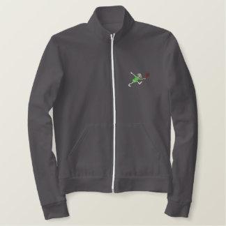 Female Senior Tennis Embroidered Jacket