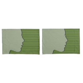 Female Silhouette Pillowcase