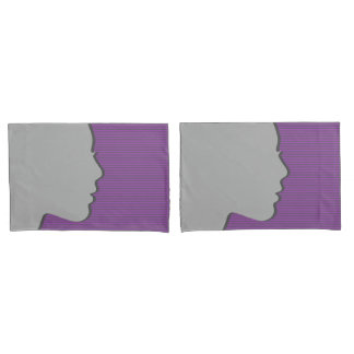 Female Silhouette Pillowcase