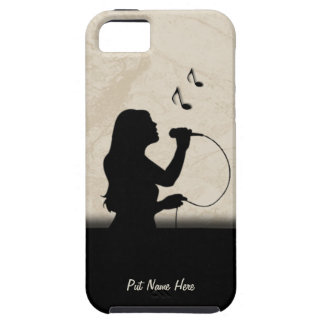 Female Singer iPhone 5 Case Personalize