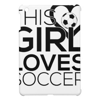 female_soccer iPad mini covers