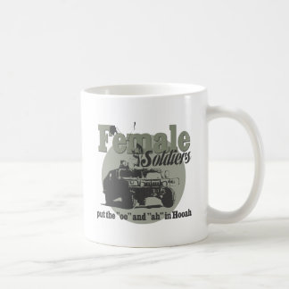 Female Soldiers Mugs