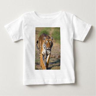 Female Tigress Stalking Prey Baby T-Shirt
