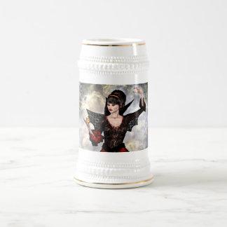 Female Wizard Beer Stein
