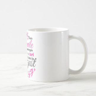 Femeile nascute in august coffee mug