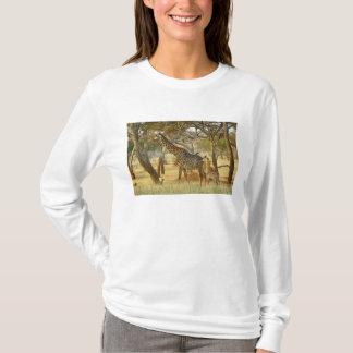 Femelle adulte et girafe juvénile, Giraffa T-shirt