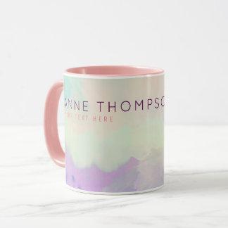 feminine & beauty watercolor mug
