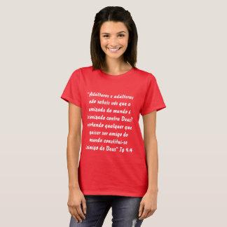 Feminine Bìblica t-shirt