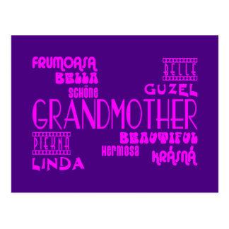 Feminine Chic : Beautiful Grandmothers & Grandmas Postcard