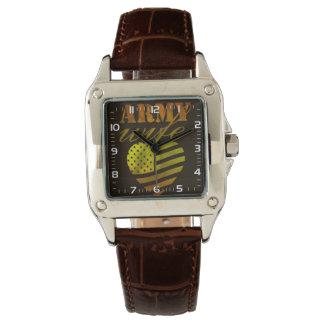 """Feminine clock """"ARMY Wife """" Watch"""
