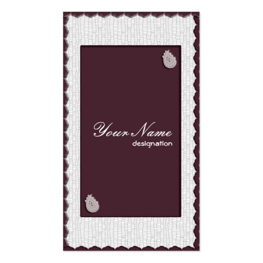 Feminine Collection Business Cards