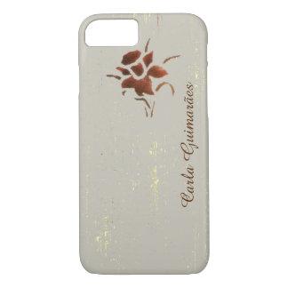 feminine design of a flower iPhone 7 case