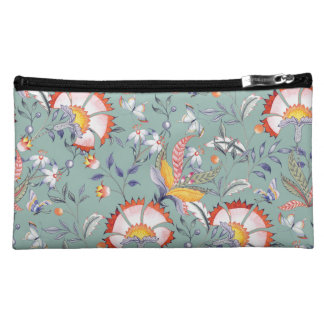 Feminine Floral Bag with Colorful Chintz Pattern