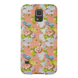 Feminine Floral Design Galaxy S5 Cover