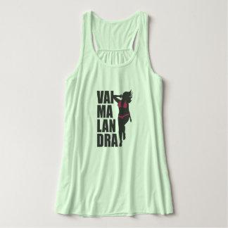 Feminine Green Clearly Goes Malandra de Bikini Tank Top