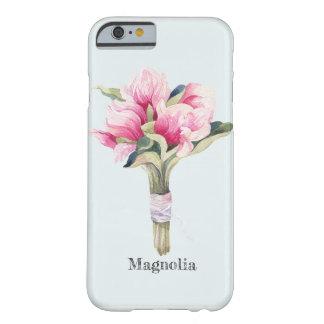 Feminine Magnolia Bouquet Barely There iPhone 6 Case